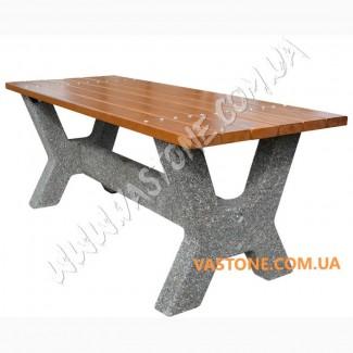 Стол садовый бетонный, дачный, столик декоративный для беседки