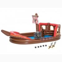 Детский надувной бассейн Пиратский корабль