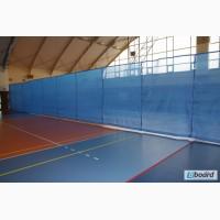 Сетки оградительные разделительная защита окон в спортзале