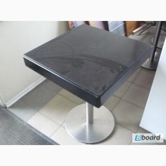 Продам стол дерево с стеклом б/у
