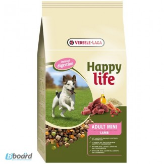 Корм для собак Happy Life Adult Mini Lamb с ягненком (для мини пород)