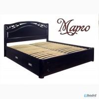 Продам кровать двуспальную из массива ясеня с ящиками Марго