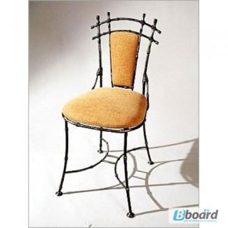 Кованый стул со спинкой КСС1