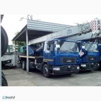 Новый автокран КС-55727-С-12 Машека 25 тонн