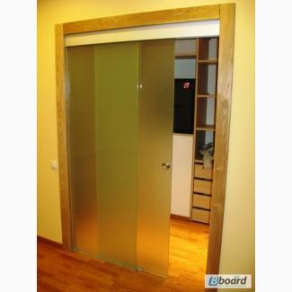 Стеклянные перегородки, раздвижные стеклянные двери