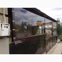 Мягкие плёночные пвх окна на террасы, беседки, пристройки, веранды