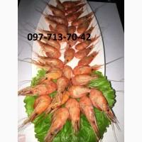 Креветки, оптом креветка мелкая, средняя, крупная