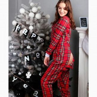 Очень теплая пижама-комбинезон. Шикарный подарок девушке