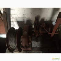 Лебедка ТЛ 14 строительная монтажная тяговая г/п до 1т