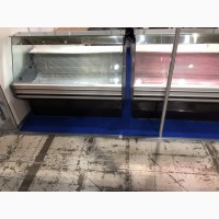 Холодильная морозильная витрина б/у 1, 45 м. Прилавок холодильный Cold б/у