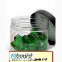 Баночка пластиковая с крышкой для крема 90 мл