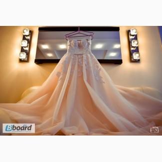 Продам свадебное платья б/у. Торг