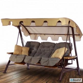 Садовые качели Техас Люкс садовая мебель, качель кровать