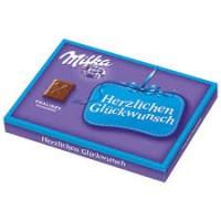 Конфеты Milka Pralines milchcreme (молочный крем), 110г