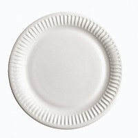 Тарелка бумажная ХТ23 100шт 20см (6/600) Белая