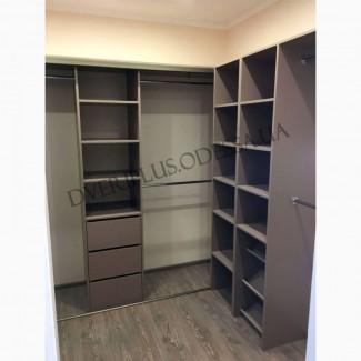 Гардеробные комнаты и шкафы купе на заказ в Одессе от Dveriplusodessa