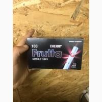 Сигаретные гильзы c вишневыми капсулами Frutta 100 штук