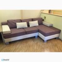 Угловой раскладной диван в современном стиле