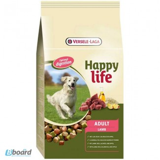 Корм для собак Happy Life Adult Lamb с ягненком