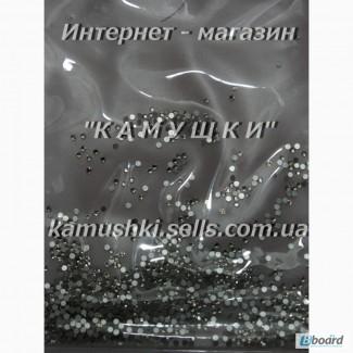 Стразы аналог Swarovski ss3 crystal прозрачные, стекло, 1440шт. (1, 3-1, 4мм)