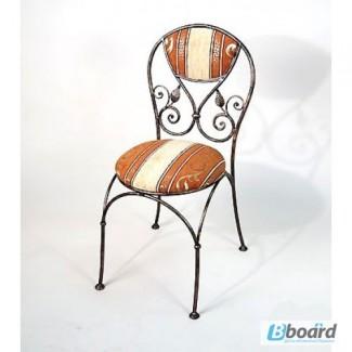Кованый стул со спинкой КСС3