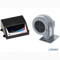 Автоматика котла SP 05 LCD терморегулятор для котла + вентилятор DP02