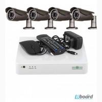 Комплект зовнішніх камер, відеоспостереження Green Vision