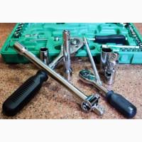 Набор инструментов для автомобиля 1/2 и 1/4 94 единицы