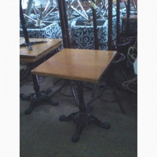 Деревянный стол б/у для кафе, бара, ресторана, кофейни, бистро