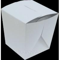 Упаковка для Лапши БЕЛАЯ, 300мл, (1уп/25шт, 1ящ/500шт)