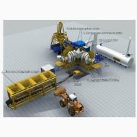 Стационарный асфальтный завод Sinosun QLB 80 - 80 т/час