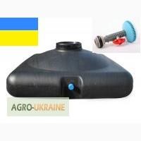 Бак пластиковый для летнего душа на 100литров + лейка, вся Украина