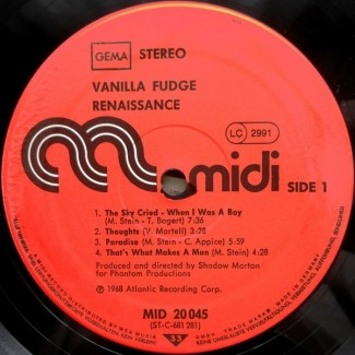 Vanilla Fudge - Renaissance 1968