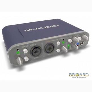 Звуковая карта M-Audio Fast Track Pro Аудио интерфейс цена 2190