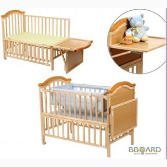 Детские кроватки, кровать трансформер в Интернет магазине