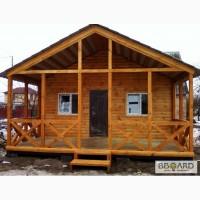 Домики дачные деревянные, бытовки дачные, строительные