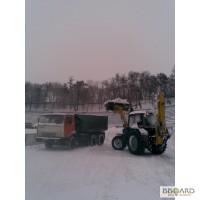 Вывоз снега ,уборка снега Киев