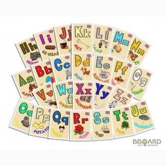 Комплекты обучающих и развивающих магнитов для детей.