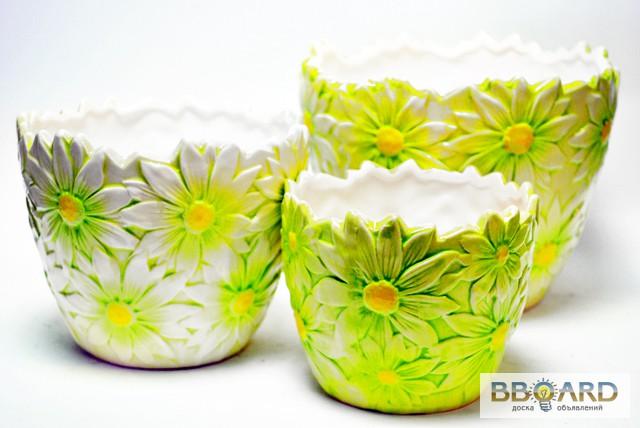 Красивые горшки для цветов своими руками