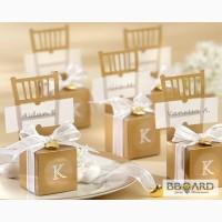 Оригинальные бонбоньерки на свадьбу