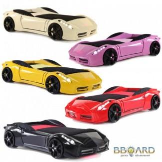 Детские кровати – машинки Ferrari Car.