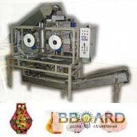 ЗТО Аванпак Автомат УАСП-02 для упаковки в сетку с обандероливанием