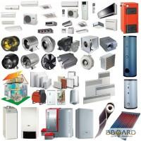 Амбаръ - вентиляция, кондиционеры, отопление, котлы.