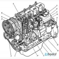 Двигатель д-144 д-37 трактора т-40