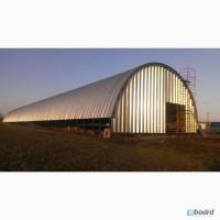 Строительство бескаркасных ангаров, зернохранилищ, складов, ферм