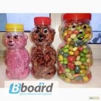 Банка пластиковая «Мишка Гамми» («Gummi Bears») 230, 340, 750 мл
