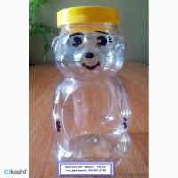 Банка пластиковая ПЭТ Мишка-медвежонок-750 мл.