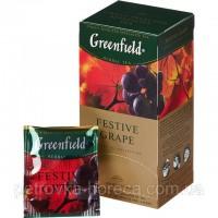 Чай фруктовый пакетированный Greenfield Festive Grape 100шт Виноград