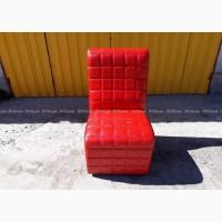 Б.у кресла красные в кафе бар ресторан, бу мебель мягкая кожзам