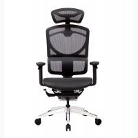 Кресло офисное ERREVO ZERO спинка/сетка, сидение/сетка, полированный каркас